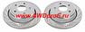 Тормозные диски передние - перфорированные Lexus LX570, LX 570 08-15